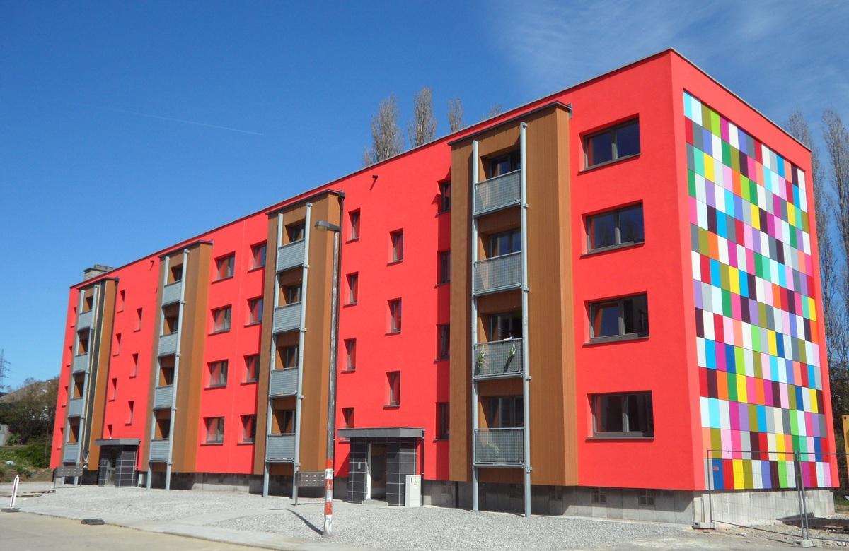 energy retrofitting of 48 units cit du centenaire construction21. Black Bedroom Furniture Sets. Home Design Ideas