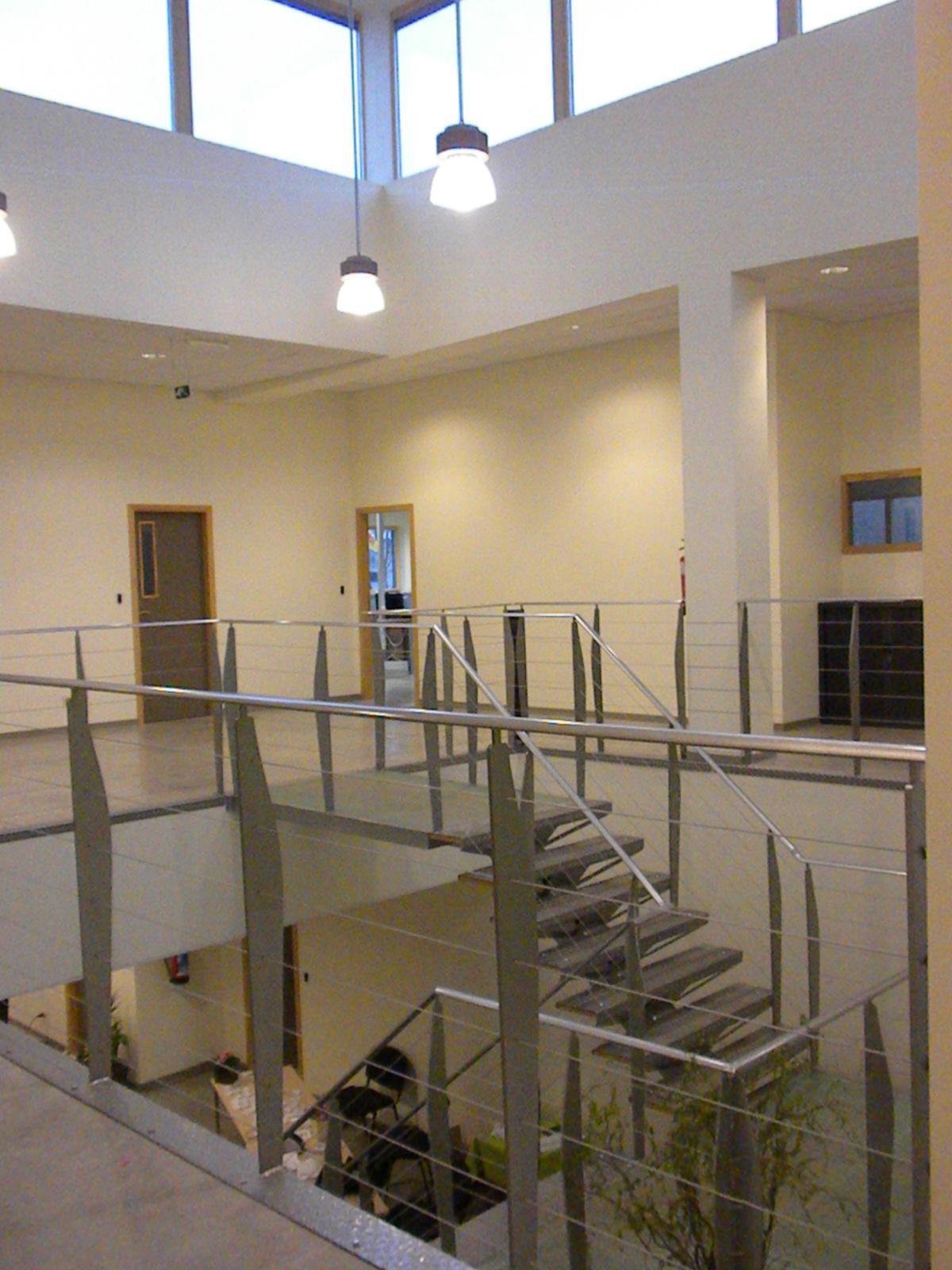 Bureaux passifs et d un hall industriel tr s basse nergie construction21 - Cout de construction d un batiment industriel ...