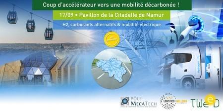 Coup d'accélérateur vers une mobilité décarbonée ! | Citadelle de Namur - 17 septembre 2021 RSS Feed