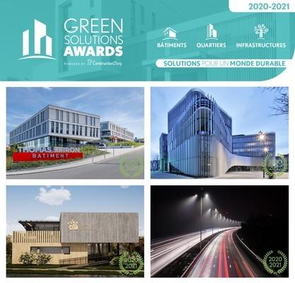 Green Solutions Awards 2020-21 : découvrez les lauréats belges!