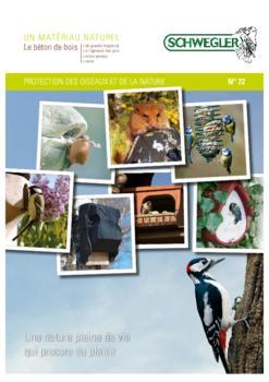 Nichoirs et gîtes pour la protection des oiseaux et de la nature