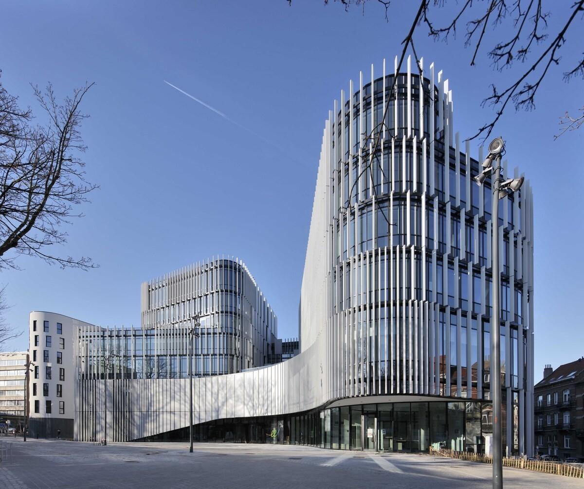 Jardin de la chasse - Construction d'un nouveau centre administratif & d'un immeuble de logement pour la Commune d'Etterbeek