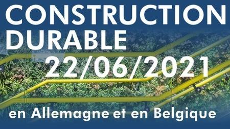 Construction durable en Allemagne et en Belgique