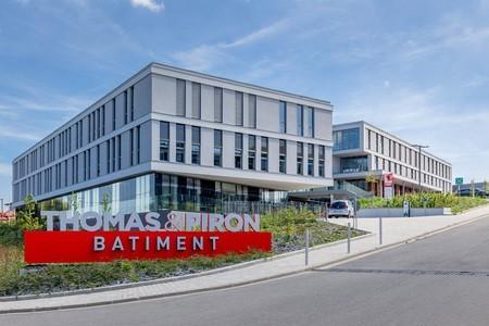 Nouveau siège de Thomas & Piron Bâtiment