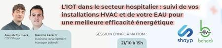 L'IOT dans le secteur hospitalier : suivi de vos installations HVAC et de votre eau pour une meilleure efficacité énergétique