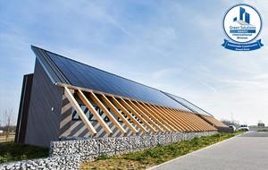 BSolutions, lauréat du Grand Prix Construction des Green Solutions Awards 2017, le projet BSolutions conçu pour démontrer le savoir-faire NZEB (Nearly Zero Energy Building)