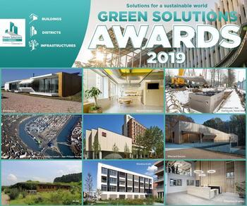 Lauréats internationaux Green Solutions Awards 2019 : 22 projets durables pour inspirer la profession