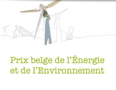 10 me dition du prix belge de l 39 energie et de l for Prix de la construction belgique