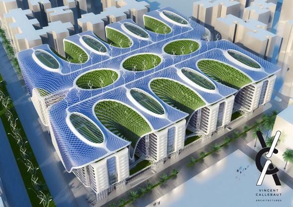 Nouveau Projet Vert Au Caire Quot The Gate Residence Quot Par