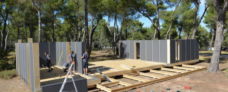 pop up house la maison passive accessible tous. Black Bedroom Furniture Sets. Home Design Ideas