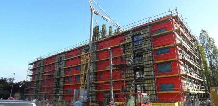 La cit du centenaire nomin e au prix hainaut horizons for Prix de la construction belgique