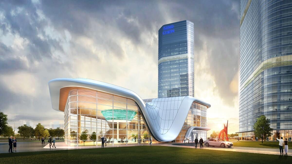 金茂西海岸•创新科技城体验中心
