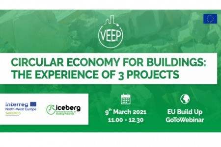 Webinar | The experience of VEEP and other projects promoting circular economy for buildings