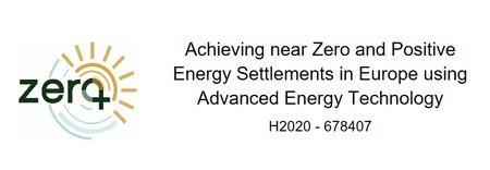 Report on the energy performance analysis of the 4 ZERO-PLUS settlements