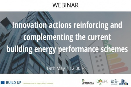 [Webinar] Innovation actions reinforcing and complementing the current building energy performance schemes