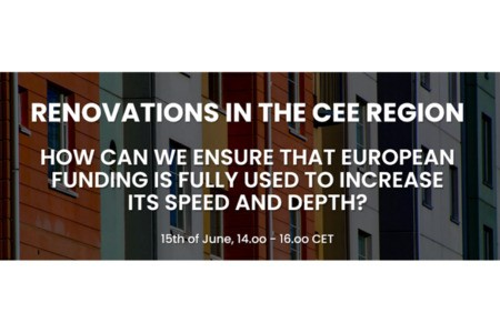 [Webinar] Renovations in the CEE region - How can we ensure that European funding is fully used to increase its speed and depth?
