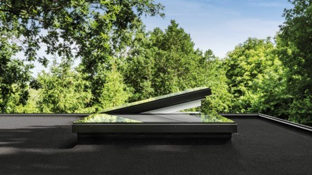 VELUX Group launches award-winning glass rooflights for flat roofs