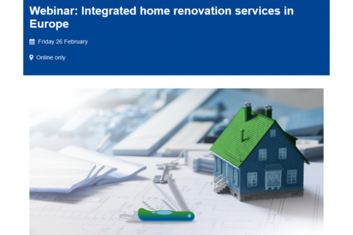 [Webinar] Integrated home renovation services in Europe