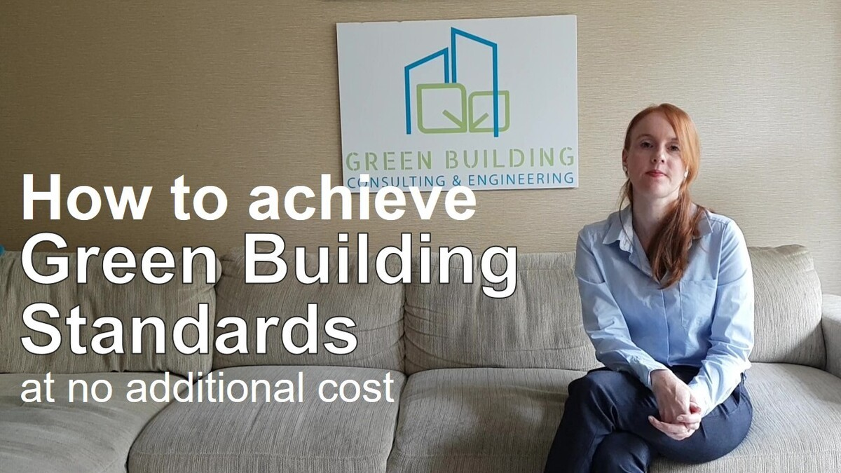 How to achieve high building performance at less than 2% additional costs