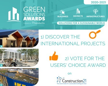 More than 190 candidates for the Green Solutions Awards 2020-21: discover them and vote!