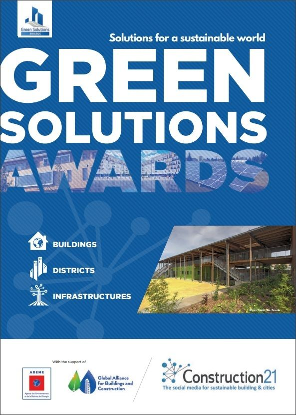 Couverture brochure Green Solutions Awards 2017 EN