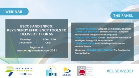 ESCOS and ENPCS: Key Energy Efficiency Tools to Deliver Fit for 55