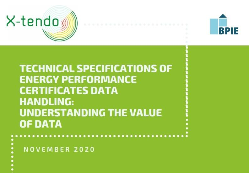 Understanding the value of data: new X-tendo report outlines user needs and technical specifications of innovative EPC features