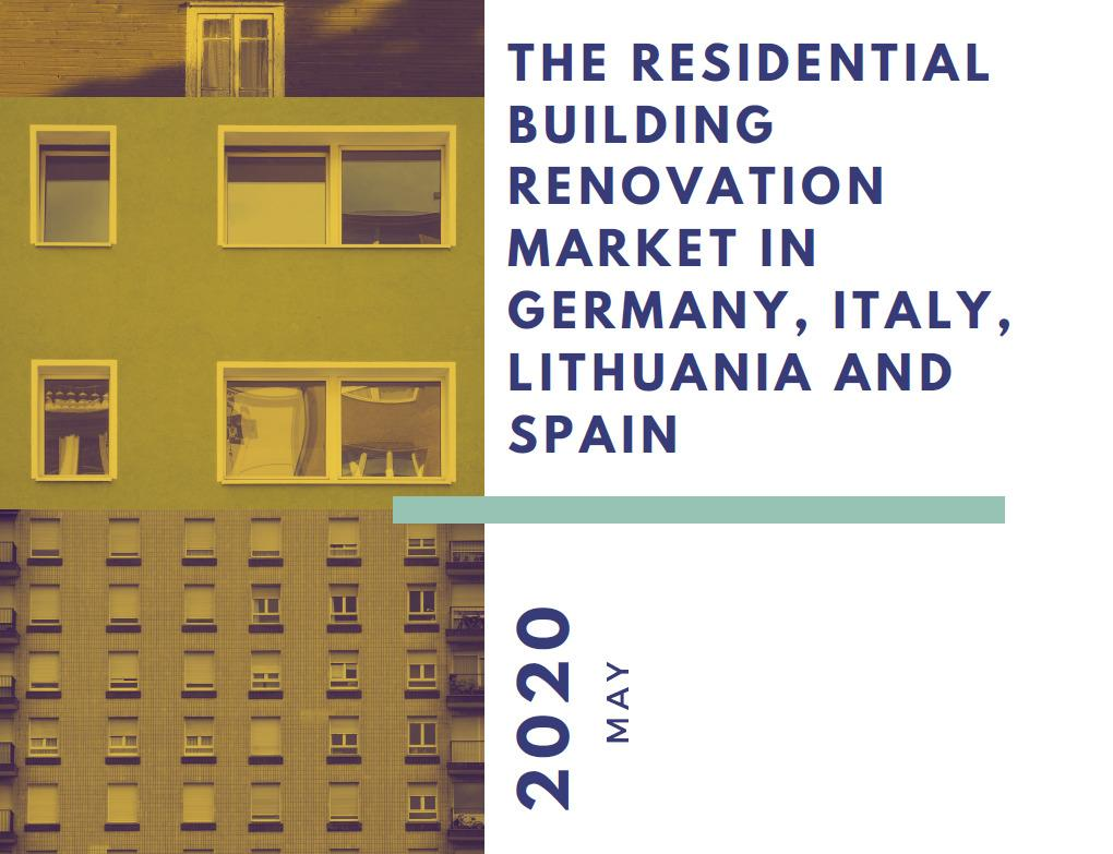 The residential building renovation market in Germany, Italy, Lithuania and Spain: new analysis by the H2020 project RenOnBill