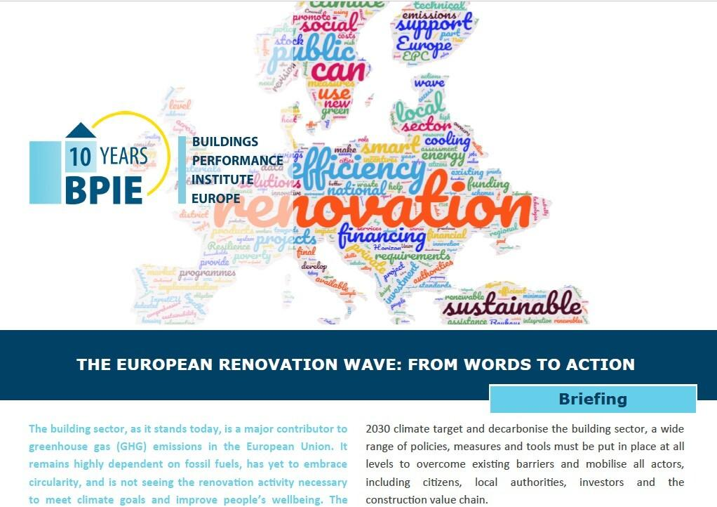 The European Renovation Wave: From Words to Action