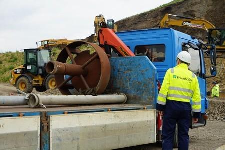 Drilling at the Bochum D2GRIDS pilot site