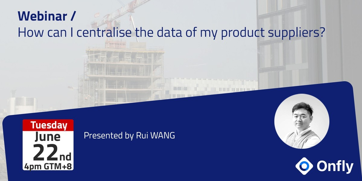 [Webinar] How can I centralise the data of my product suppliers?