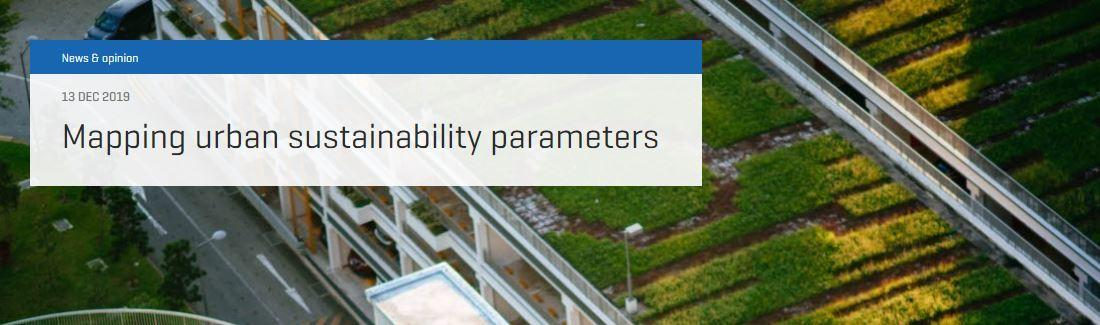 [Opinion] Mapping urban sustainability parameters