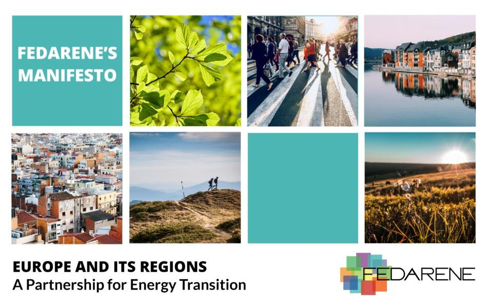 FEDARENE's Manifesto: Europe and its Regions, a Partnership for Energy Transition