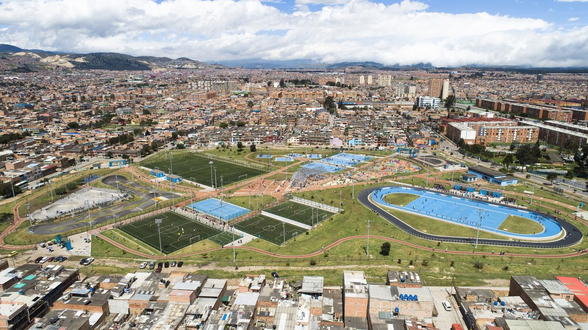 Master Plan of Sports and Recreational Equipment for the city of Bogota