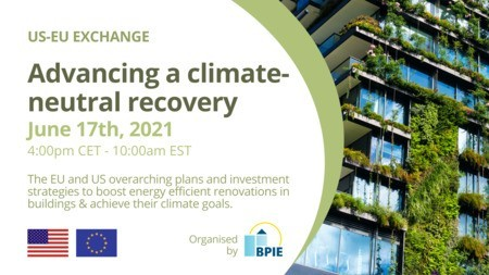 [Webinar] US-EU Exchange: Advancing a climate-neutral recovery