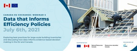 [Webinar] Canada-EU exchange: Data that Informs Efficiency Policies