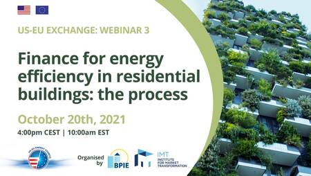 US-EU exchange: Finance for energy efficiency in residential buildings – the process