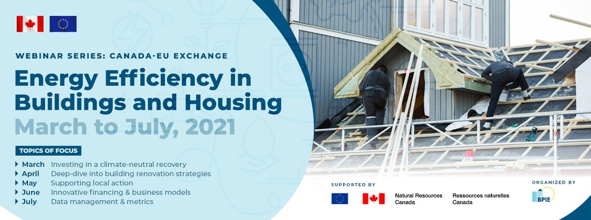 [Webinar] Canada-EU Exchange: Investing in a climate-neutral recovery, March 9