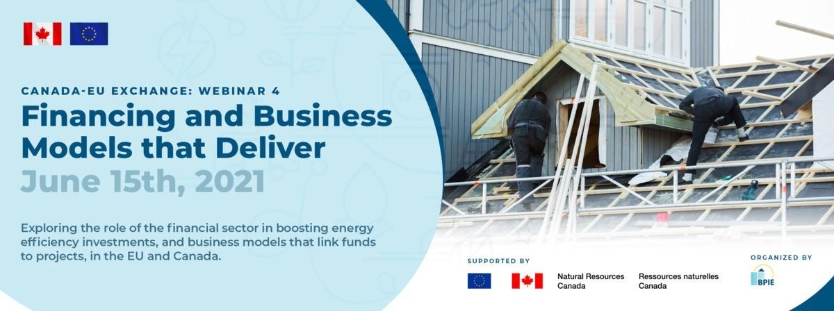 [Webinar] Financing and business models that deliver, June 15th