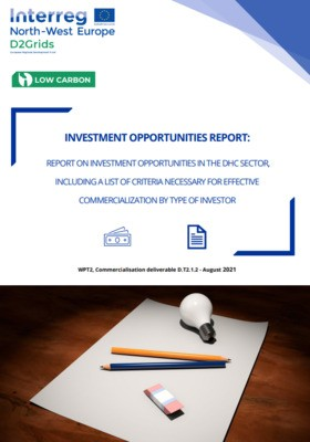 Report on investment opportunities in the DHC sector