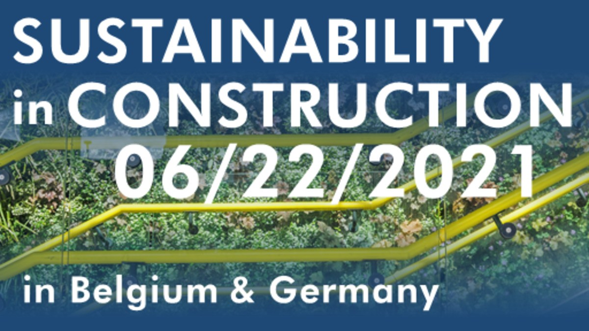 Sustainability in construction in Belgium and in Germany
