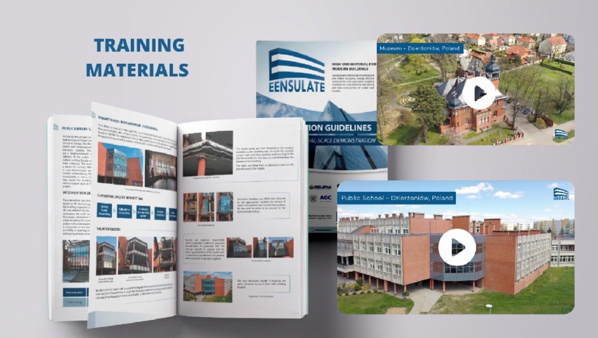 EENSULATE Project: Training materials