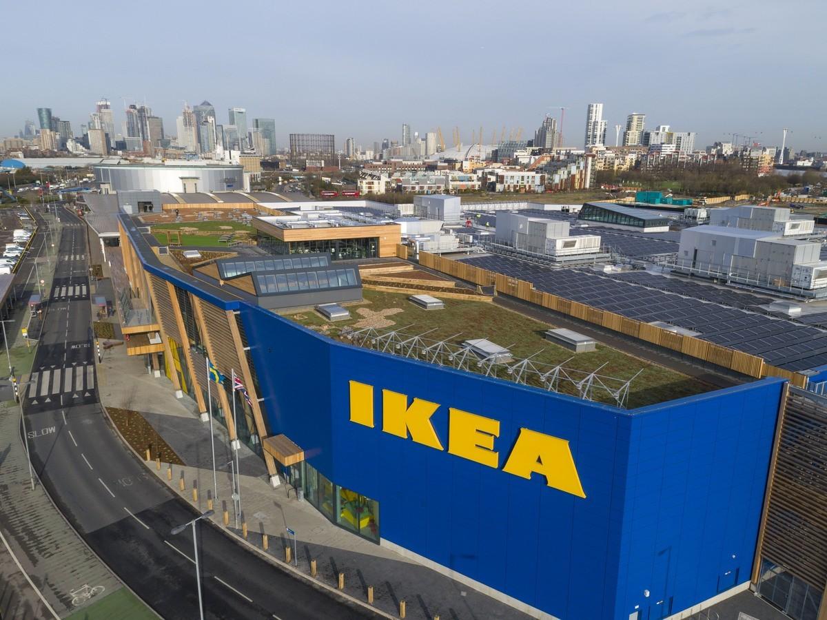 IKEA Greenwich - Green Roof