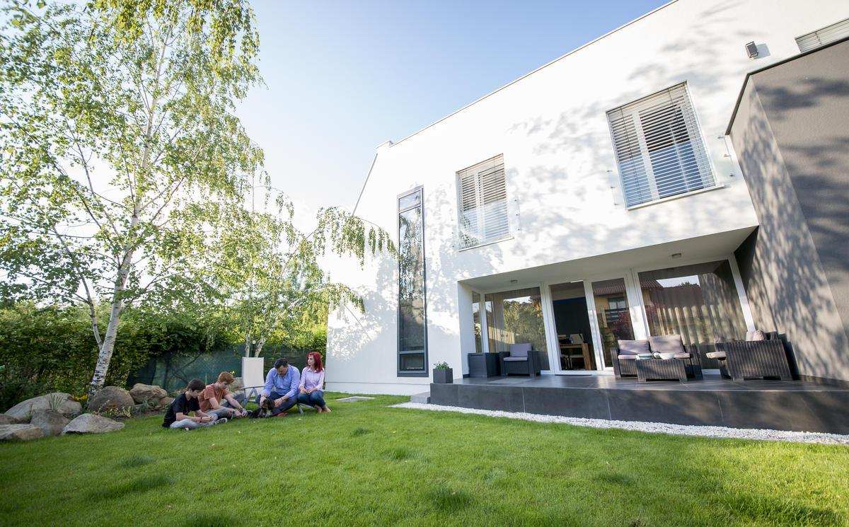 cout construction maison energie positive maison moderne. Black Bedroom Furniture Sets. Home Design Ideas