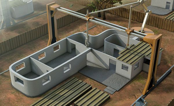 Insolite LImprimante D Qui Peut Construire Une Maison En