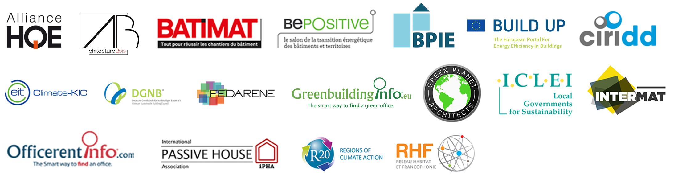 Partenaires des Green Solutions Awards 2018