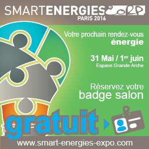 Smart Energies Expo 31 mai - 1er juin