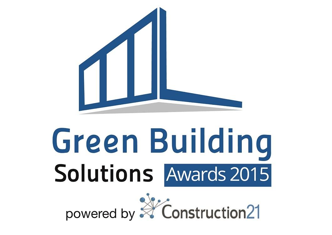 Green building solutions awards 2015 des solutions for Green building articles