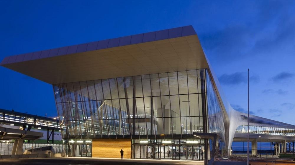 Smart buildings of glass