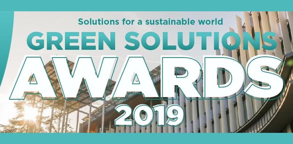 Die Gewinner des Green Solutions Awards 2019